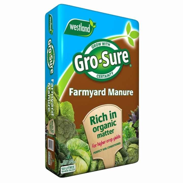 Gro-Sure Farmyard Manure - 50L