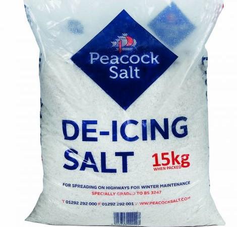 peacock salt - 15kg bag of de-icing salt